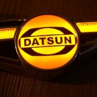 Светодиодные поворотники с логотипом Datsun
