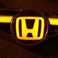 Светодиодный поворотник с логотипом HONDA