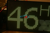 автобусное маршрутное табло высокого разрешения hd