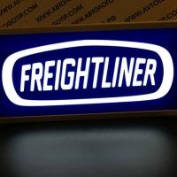 Светящийся полноцветный логотип FREIGHTLINER