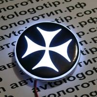 Светящийся Болнисский крест на автомобиль БМВ