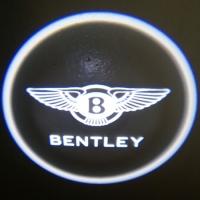 Внешняя подсветка дверей с логотипом Bentley 5W