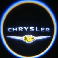 Беспроводная подсветка дверей с логотипом Chrystler