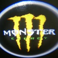 Проектор логотипа на мотоцикл Monster