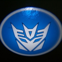 Проектор логотипа на мотоцикл Decepticon