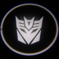 Подсветка дверей с логотипом Decepticons 5W mini