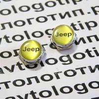 Болты крепления гос номера с логотипом Jeep 2