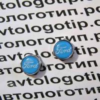 Болты крепления гос номера с логотипом Ford