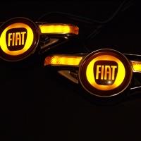 Светодиодный поворотник с логотипом FIAT