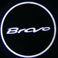 Беспроводная подсветка дверей с логотипом FIAT BRAVO
