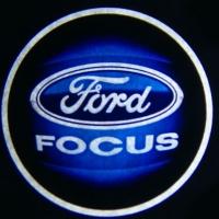 Беспроводная подсветка дверей с логотипом FORD FOCUS 5W