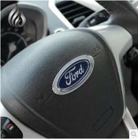 Хром окантовка логотипа на руль для Ford Fiesta, Mondeo, Focus, Kuga, B-Max, C-Max
