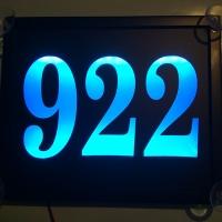 Табличка на стекло 922