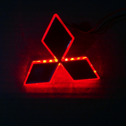 Светящийся логотип MITSUBISHI Lancer-EX 10
