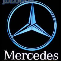 Светящийся полноцветный логотип Mercedes