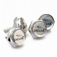 Болты крепления гос номера с логотипом Jaguar