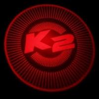 Подсветка дверей с логотипом Kia K2 Rio 5W mini