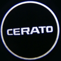 Беспроводная подсветка дверей с логотипом KIA CERATO