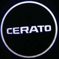 Беспроводная подсветка дверей с логотипом KIA CERATO 5W