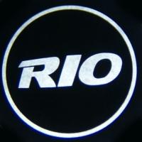 Беспроводная подсветка дверей с логотипом KIA RIO