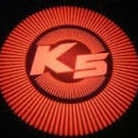 Подсветка дверей с логотипом Kia K5 Optima 5W mini