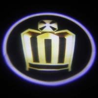 Подсветка дверей с логотипом Crown 5W mini