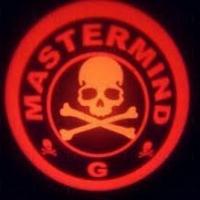 Проектор логотипа на мотоцикл Mastermind