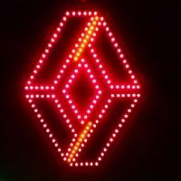 Светящийся логотип для грузовика RENAULT*2