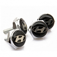 Болты крепления гос номера с логотипом Hyundai