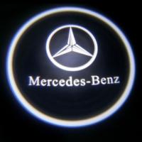 Подсветка дверей с логотипом Mercedes 5W mini