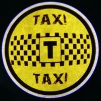Беспроводная подсветка дверей с логотипом TAXI
