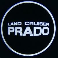 Беспроводная подсветка дверей с логотипом TOIOTA LAND CRUSER PRADO