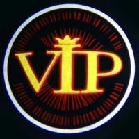 Беспроводная подсветка дверей с логотипом VIP