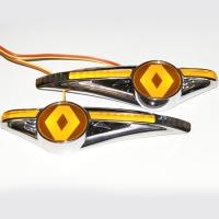 Светодиодный поворотник с логотипом RENAULT