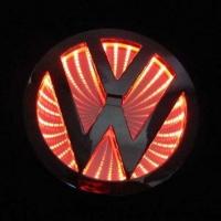 3D светящийся логотип Volkswagen