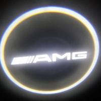 Врезная подсветка дверей AMG 7W