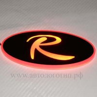 Светящийся объёмный логотип KIA Sportage R