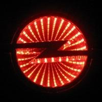 3D светящийся логотип Opel
