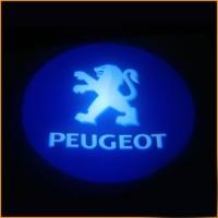 Подсветка дверей с логотипом Peugeot 5W mini