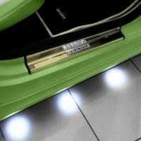 подсветка днища автомобиля, точечная подсветка днища