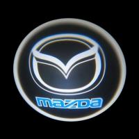 Беспроводная подсветка дверей с логотипом Mazda