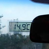 Автомобильный цифровой термометр