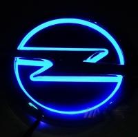 5D светящийся логотип OPEL