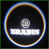 Беспроводная подсветка дверей с логотипом Brabus