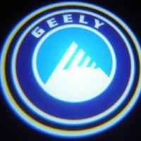 Внешняя подсветка дверей с логотипом Geely 5W