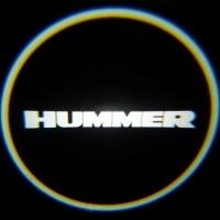 Подсветка дверей с логотипом Hummer 5W mini