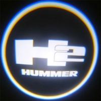 Подсветка дверей с логотипом Hummer h2 5W mini