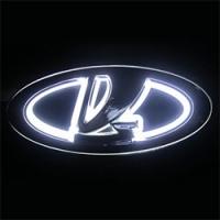 5D светящийся логотип LADA