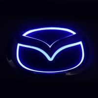 5D светящийся логотип Mazda 10,1см*8см