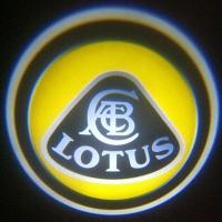 Беспроводная подсветка дверей с логотипом Lotus 5W